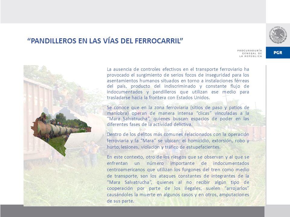 PANDILLEROS EN LAS VÍAS DEL FERROCARRIL