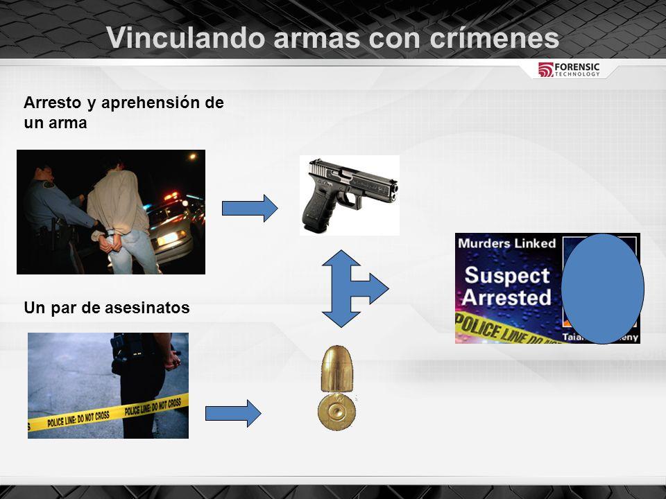 Vinculando armas con crímenes