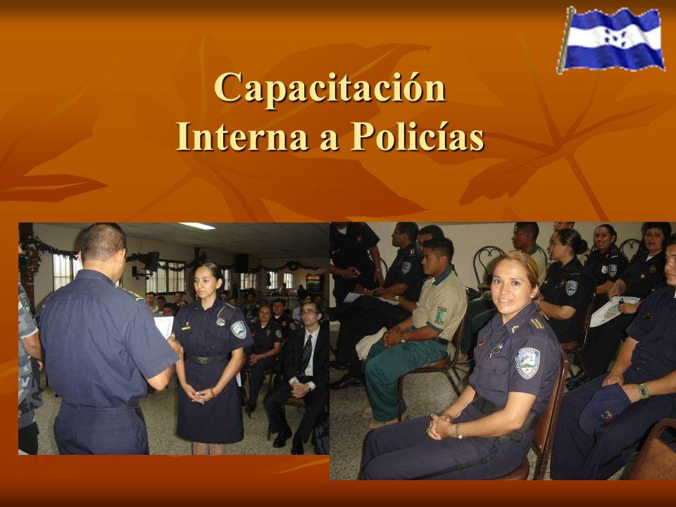 Capacitación Interna a Policías