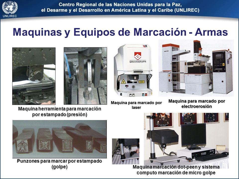 Maquinas y Equipos de Marcación - Armas
