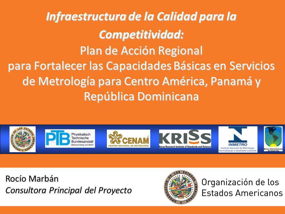 Infraestructura de la Calidad para la Competitividad: Plan de Acción Regional para Fortalecer las Capacidades Básicas en Servicios de Metrología para Centro América, Panamá y República Dominicana