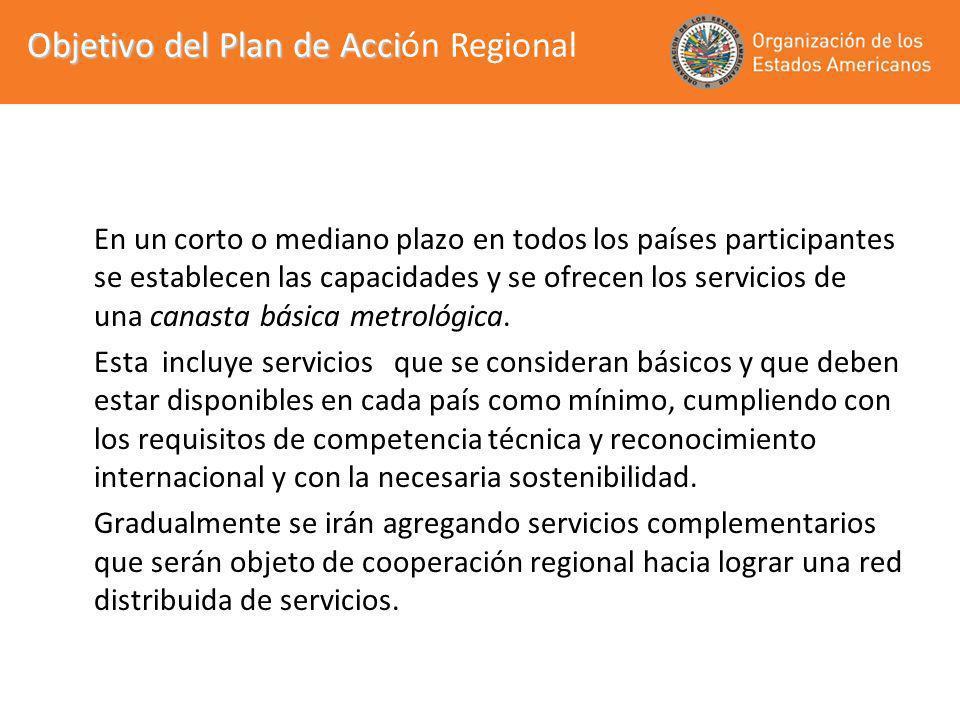 Objetivo del Plan de Acción Regional