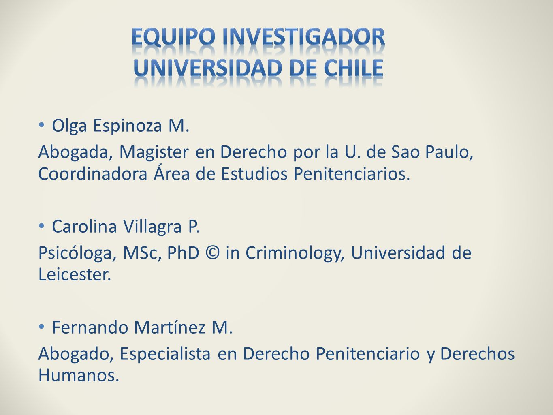 Equipo investigador Universidad de Chile