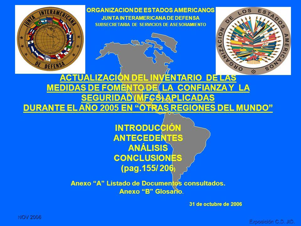 ACTUALIZACIÓN DEL INVENTARIO DE LAS