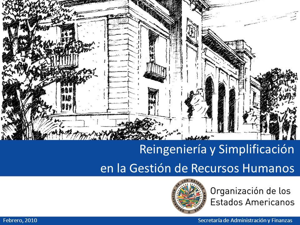 Reingeniería y Simplificación en la Gestión de Recursos Humanos