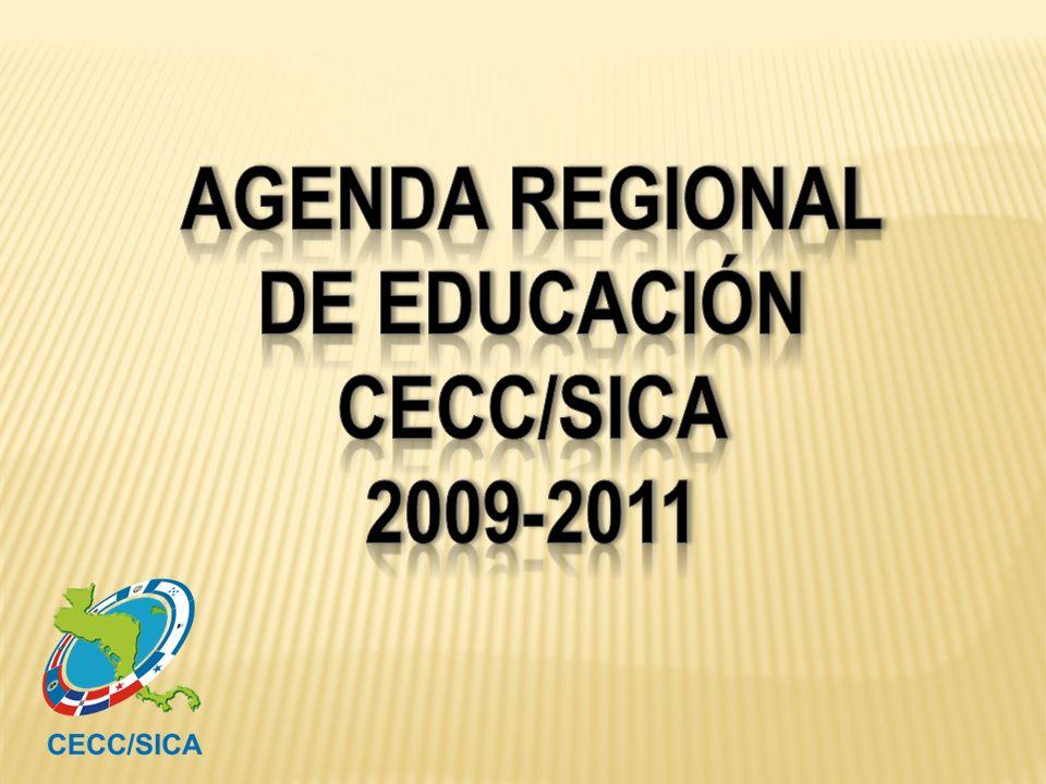 de EDUCACIóN CECC/SICA