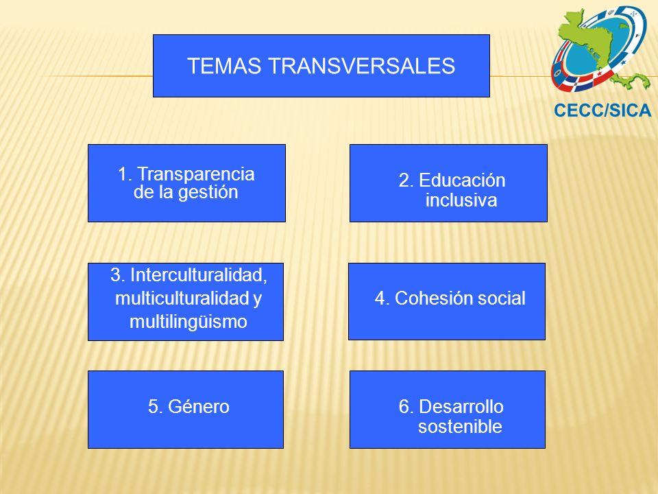 6. Desarrollo sostenible