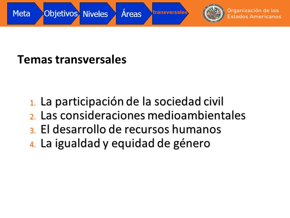 La participación de la sociedad civil
