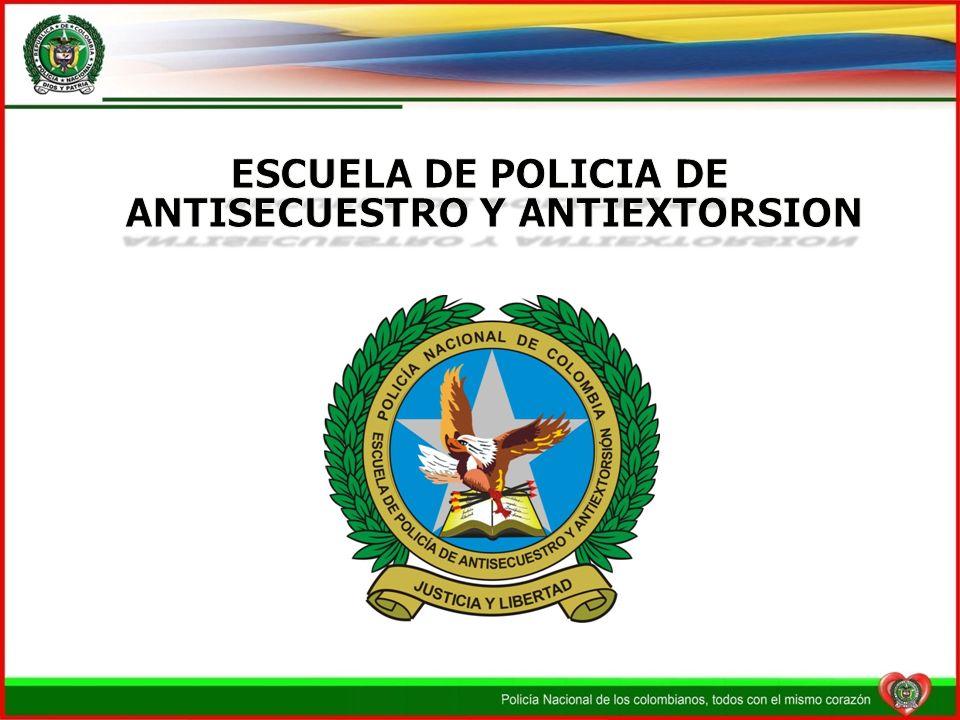 ESCUELA DE POLICIA DE ANTISECUESTRO Y ANTIEXTORSION