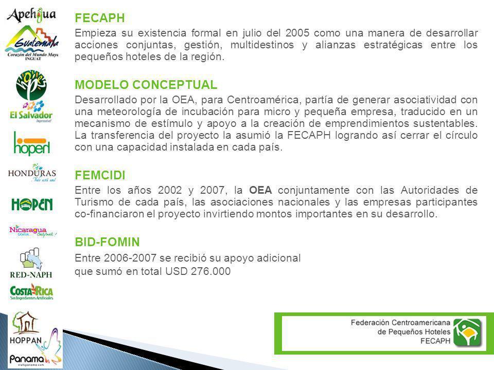 FECAPH MODELO CONCEPTUAL FEMCIDI BID-FOMIN