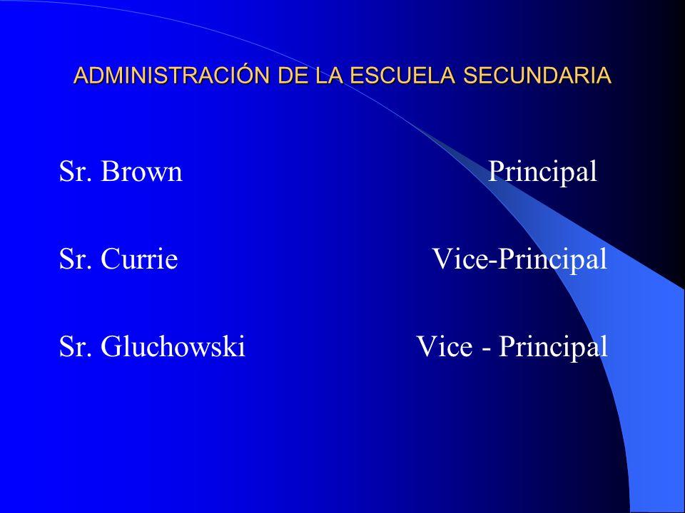 ADMINISTRACIÓN DE LA ESCUELA SECUNDARIA