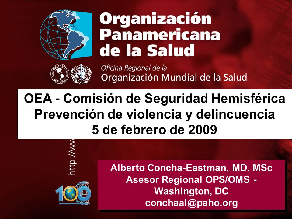 OEA - Comisión de Seguridad Hemisférica
