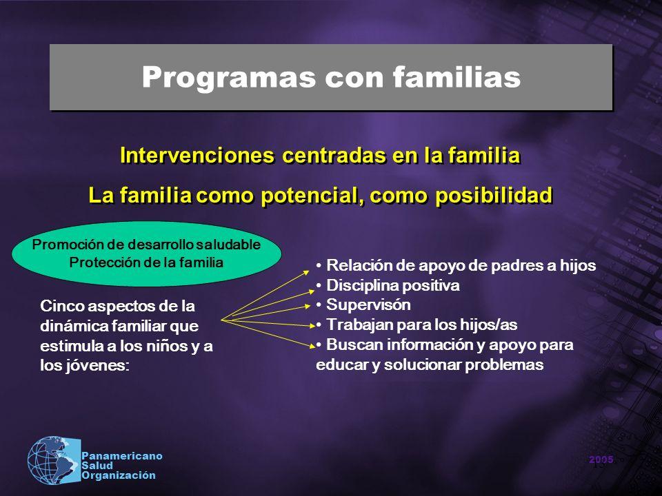 Programas con familias