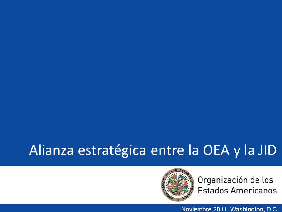 Alianza estratégica entre la OEA y la JID