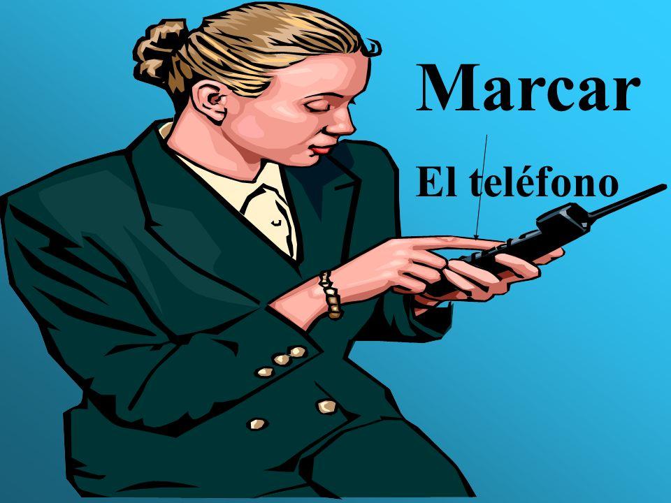 Marcar El teléfono