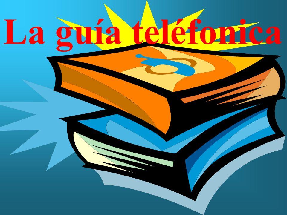 La guía teléfonica