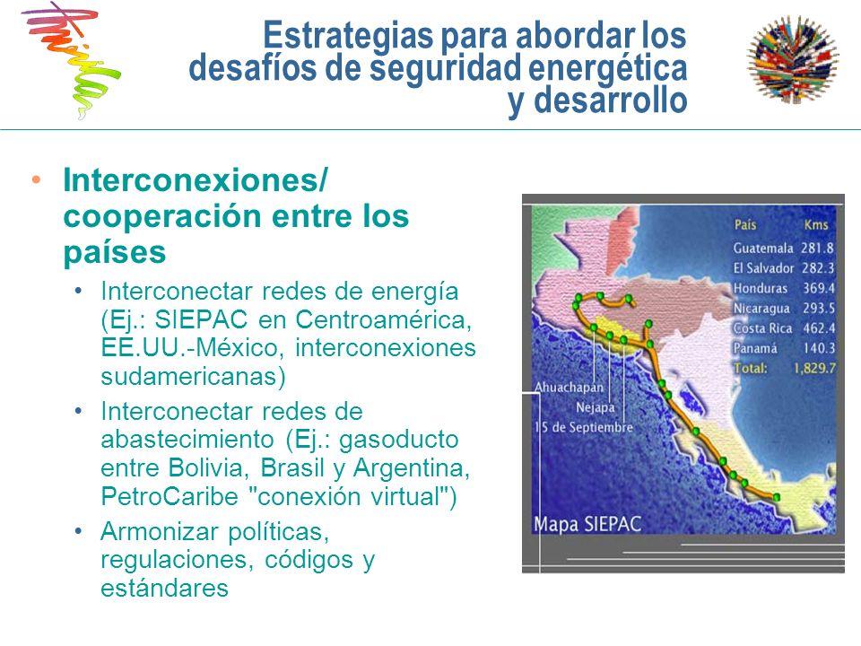 Estrategias para abordar los desafíos de seguridad energética y desarrollo