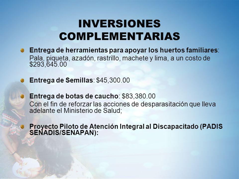 INVERSIONES COMPLEMENTARIAS