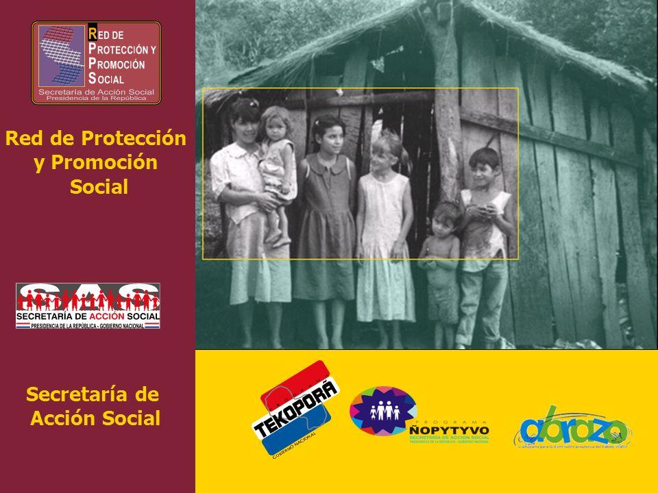 Red de Protección y Promoción Social Secretaría de Acción Social
