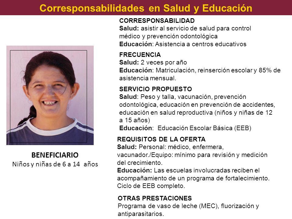 Corresponsabilidades en Salud y Educación