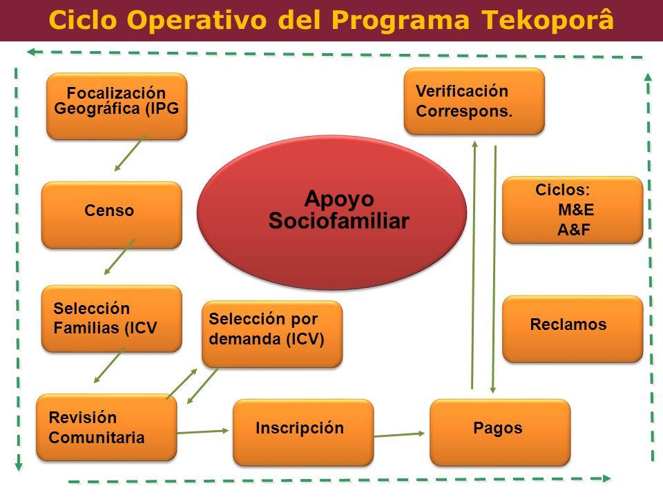 Ciclo Operativo del Programa Tekoporâ