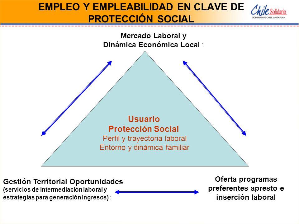 EMPLEO Y EMPLEABILIDAD EN CLAVE DE PROTECCIÓN SOCIAL