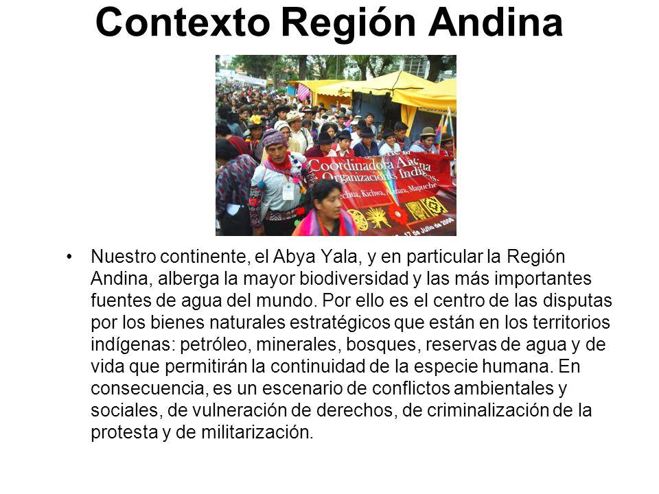 Contexto Región Andina