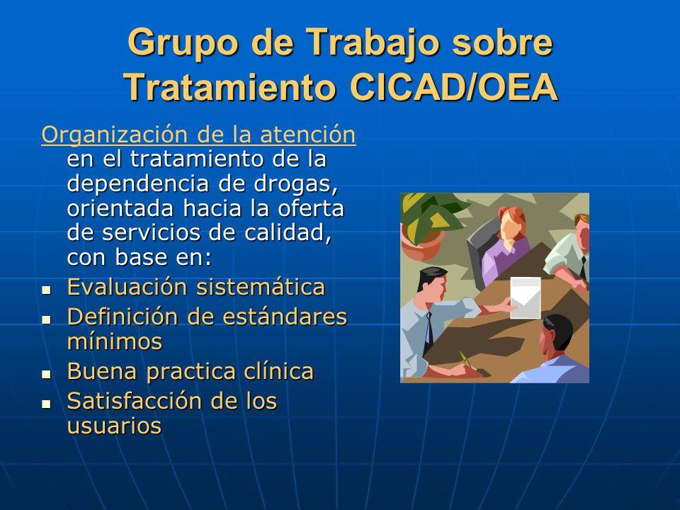 Grupo de Trabajo sobre Tratamiento CICAD/OEA