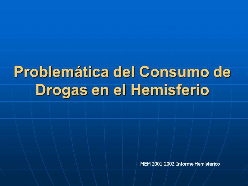 Problemática del Consumo de Drogas en el Hemisferio