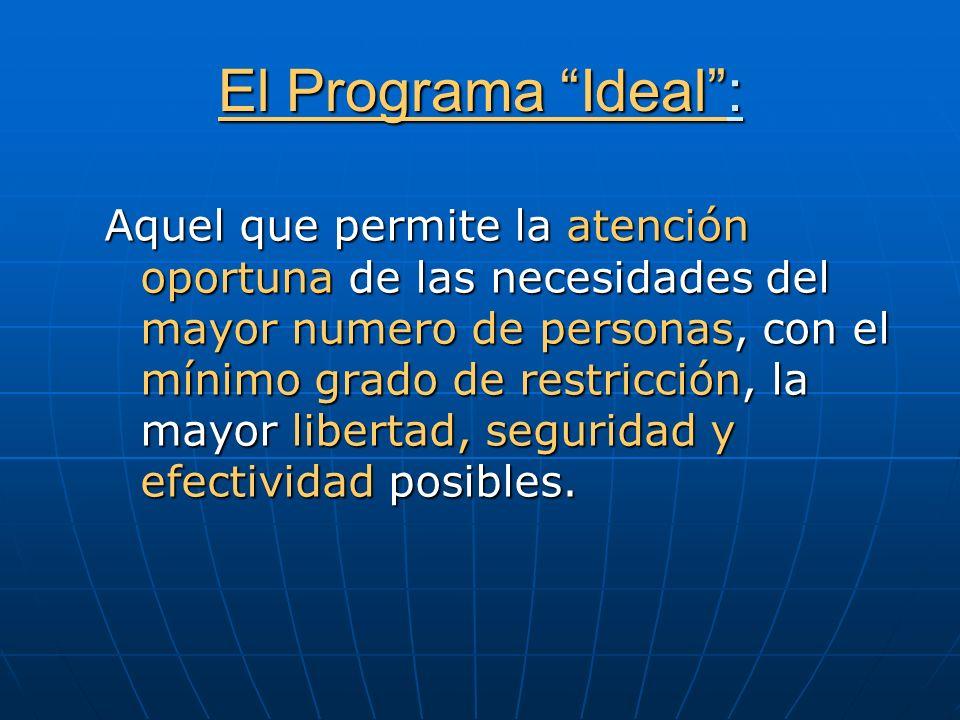 El Programa Ideal :