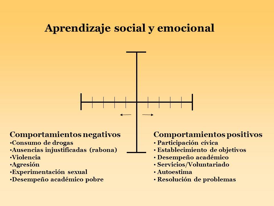 Aprendizaje social y emocional