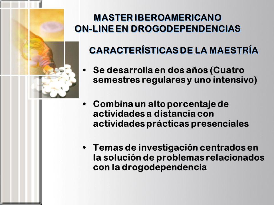 CARACTERÍSTICAS DE LA MAESTRÍA