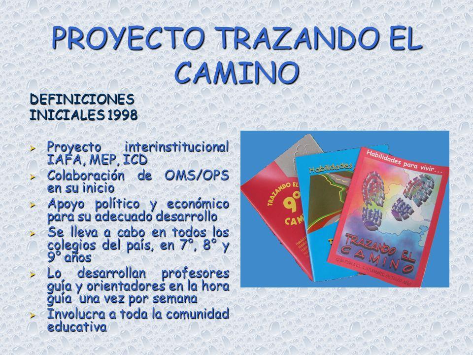 PROYECTO TRAZANDO EL CAMINO