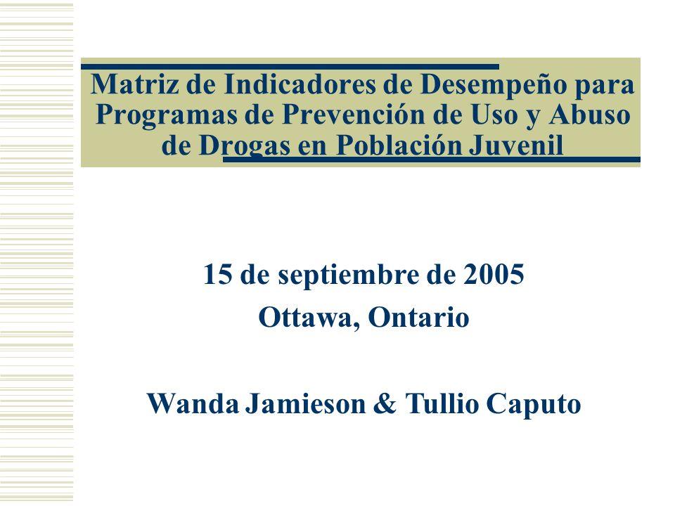 Wanda Jamieson & Tullio Caputo