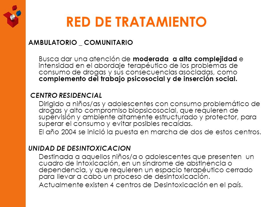 RED DE TRATAMIENTO AMBULATORIO _ COMUNITARIO