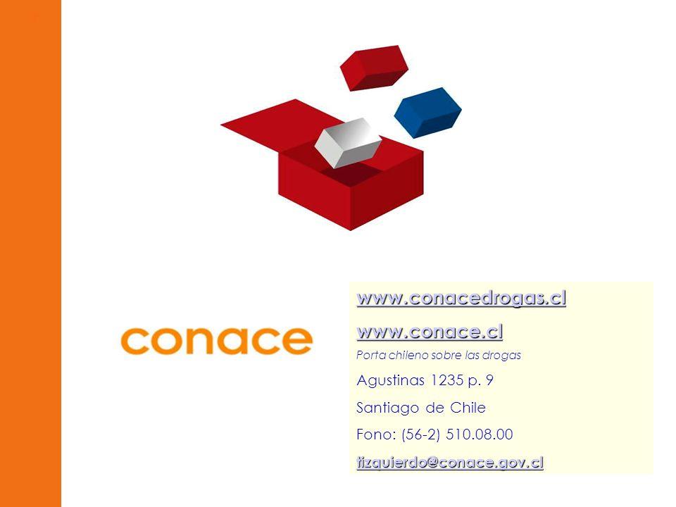 www.conacedrogas.cl www.conace.cl Agustinas 1235 p. 9