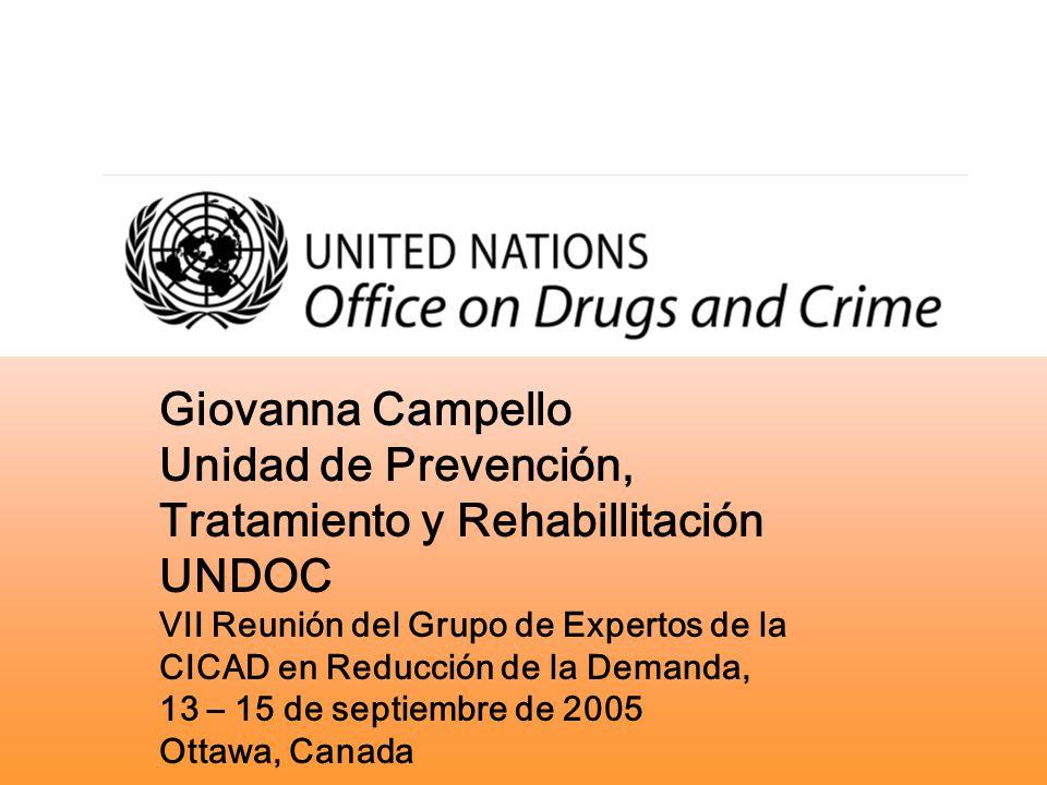 Unidad de Prevención, Tratamiento y Rehabillitación UNDOC