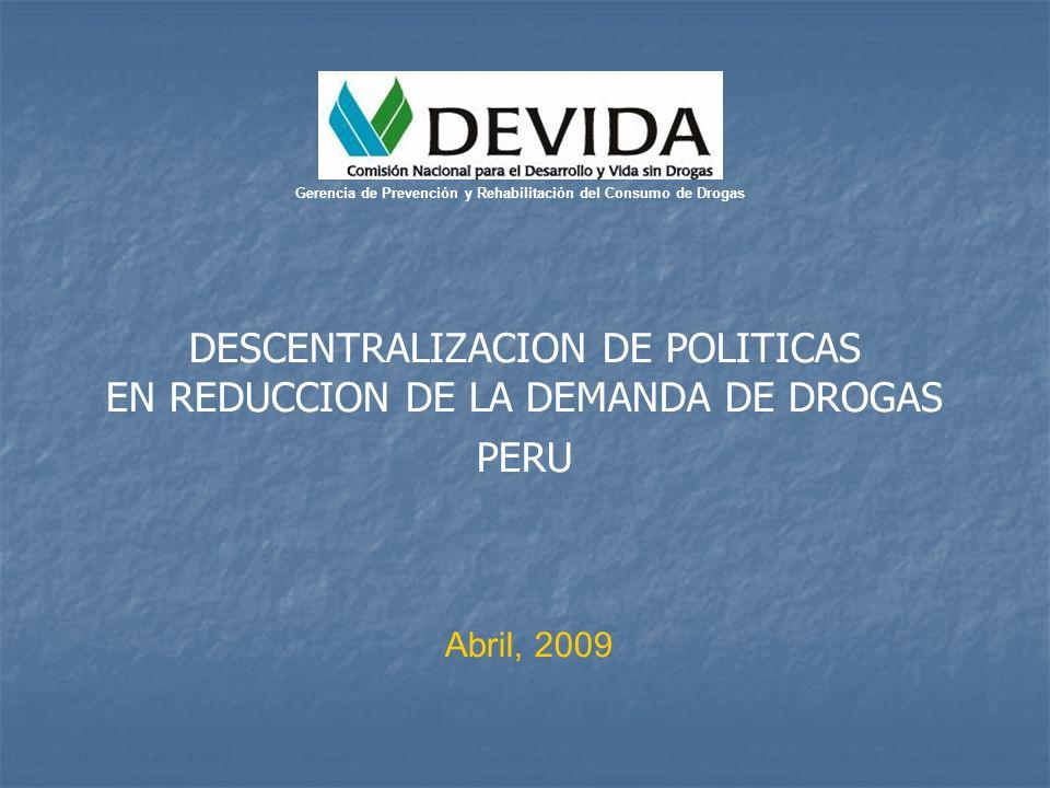 Gerencia de Prevención y Rehabilitación del Consumo de Drogas