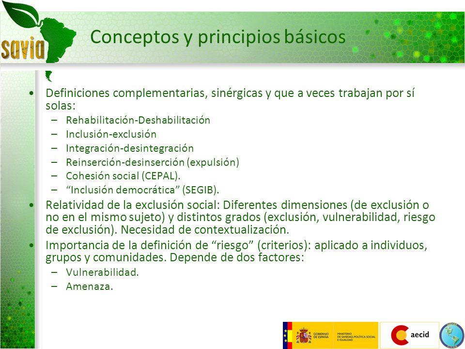 Conceptos y principios básicos