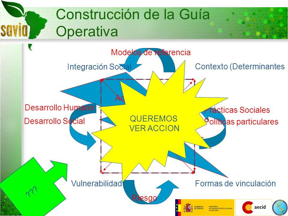 Construcción de la Guía Operativa