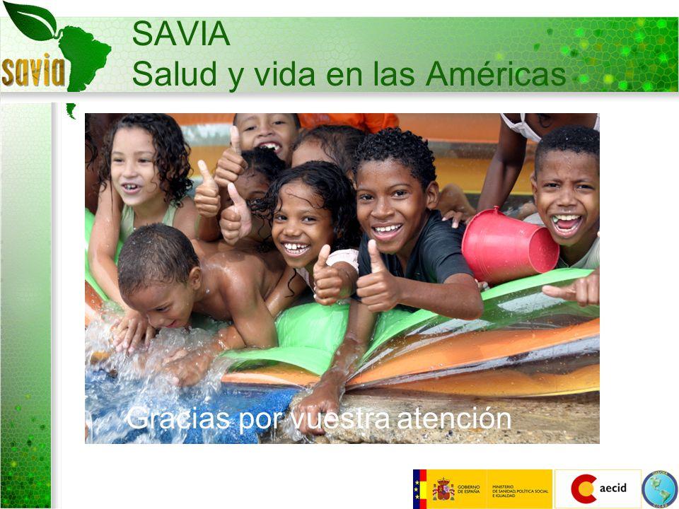 SAVIA Salud y vida en las Américas