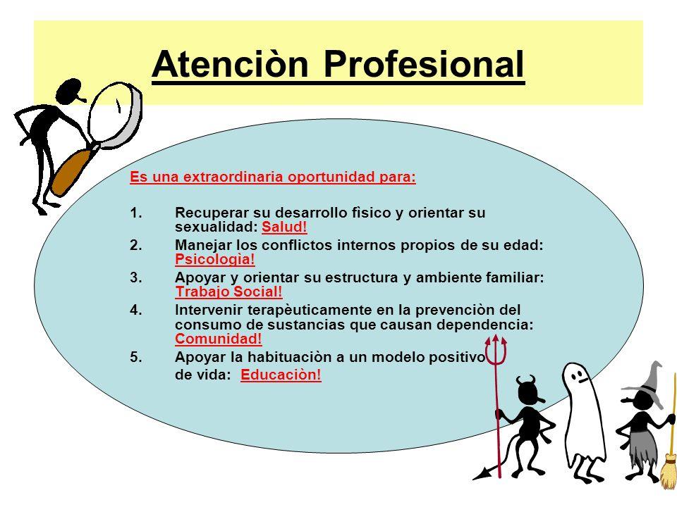 Atenciòn Profesional Es una extraordinaria oportunidad para: