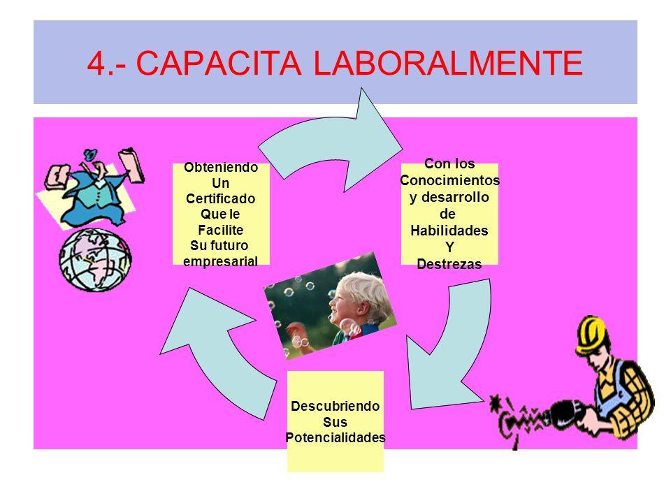 4.- CAPACITA LABORALMENTE