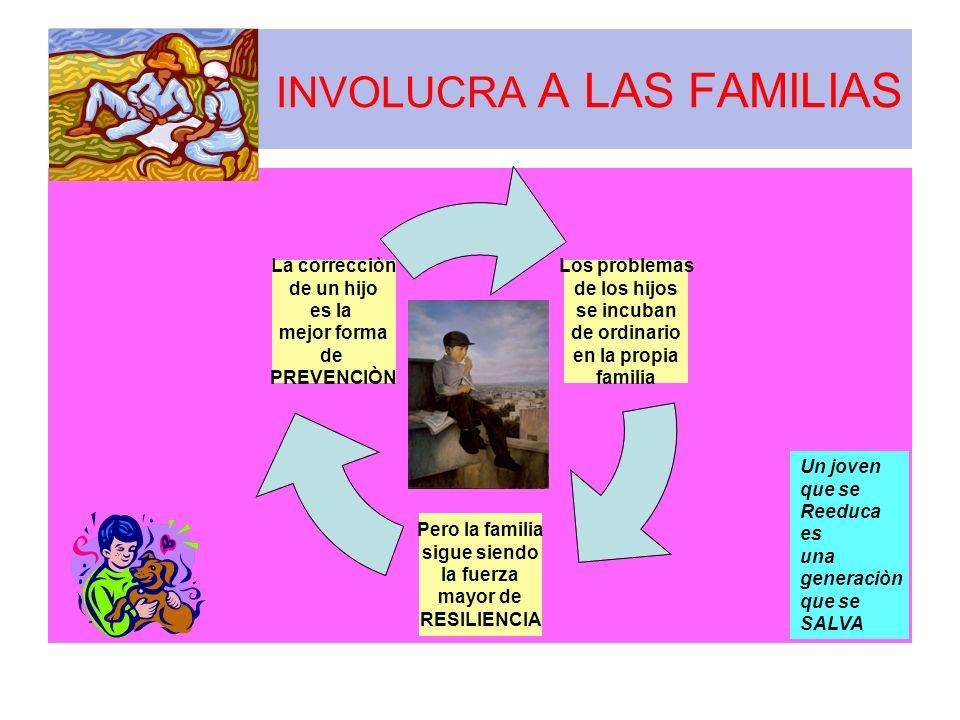 INVOLUCRA A LAS FAMILIAS