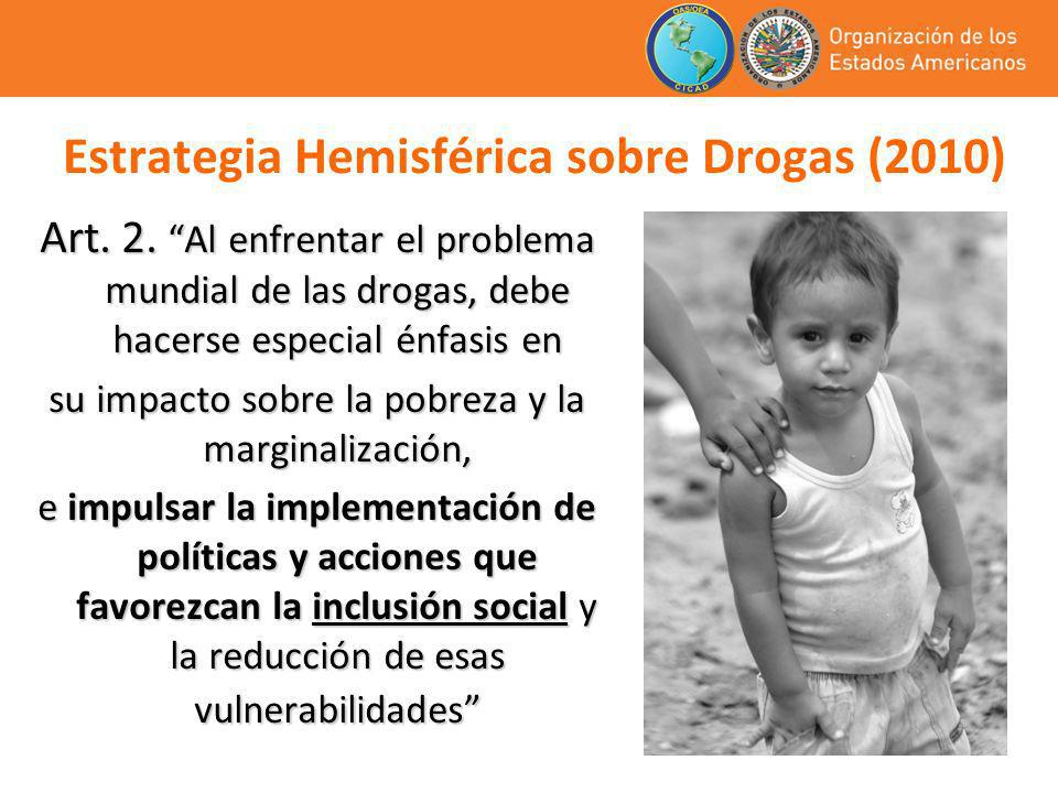 Estrategia Hemisférica sobre Drogas (2010)