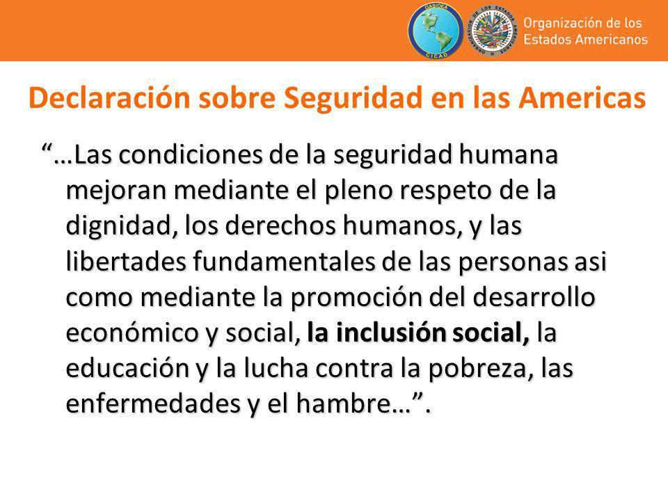 Declaración sobre Seguridad en las Americas