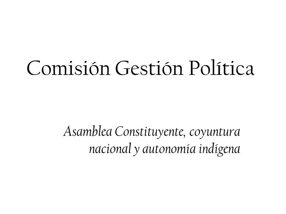 Comisión Gestión Política