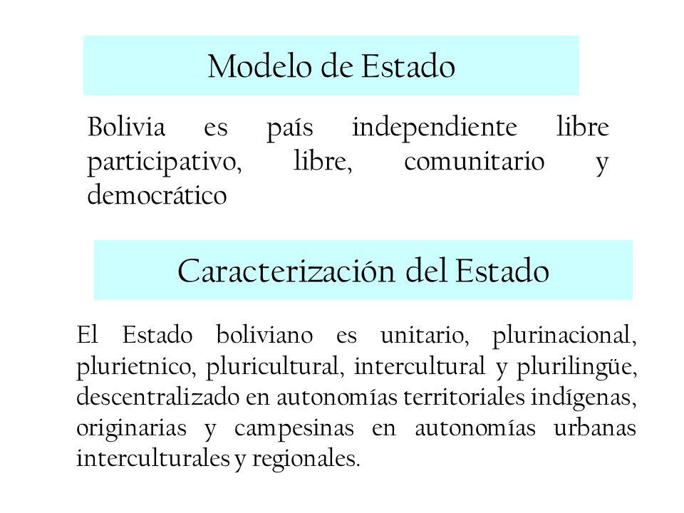 Caracterización del Estado