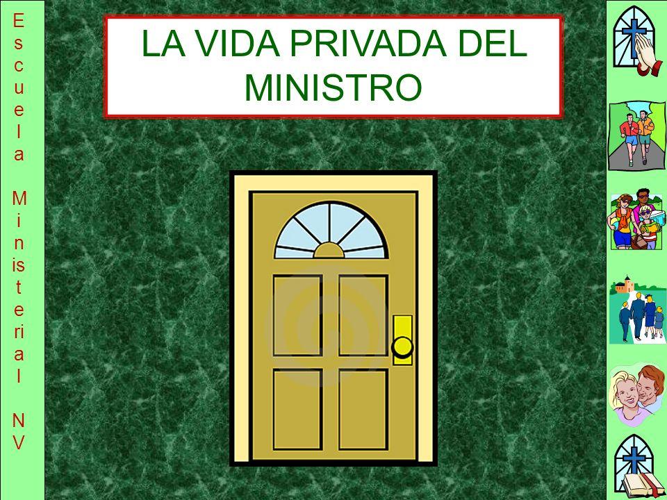 LA VIDA PRIVADA DEL MINISTRO