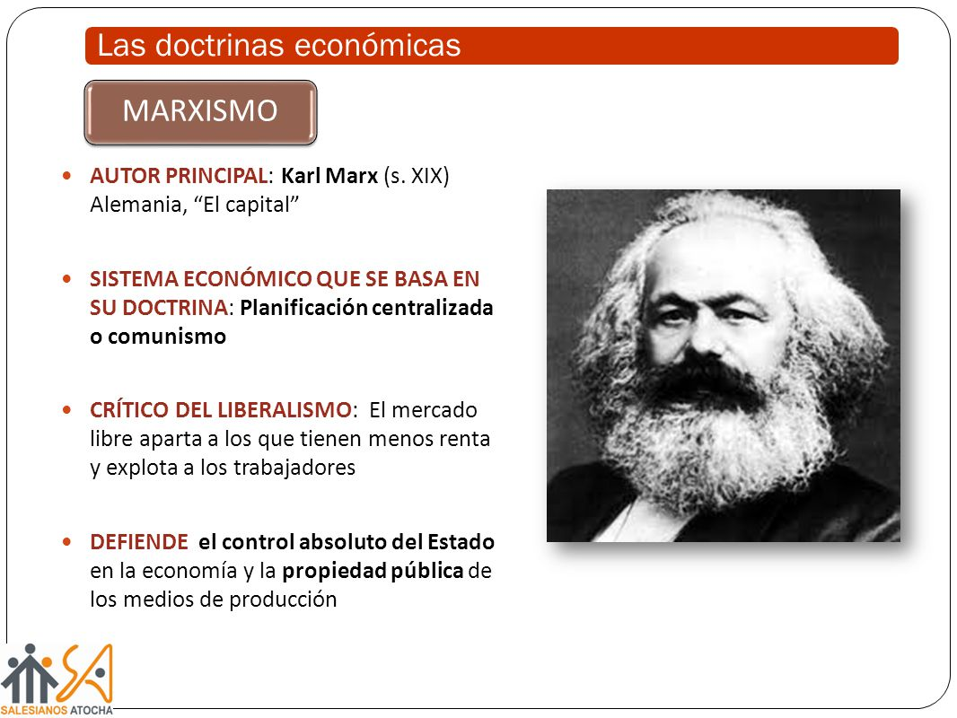 Las doctrinas económicas